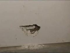Заделываем дыры в гипсокартонных стенах